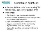 energy expert neighbours