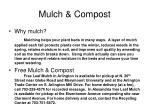 mulch compost