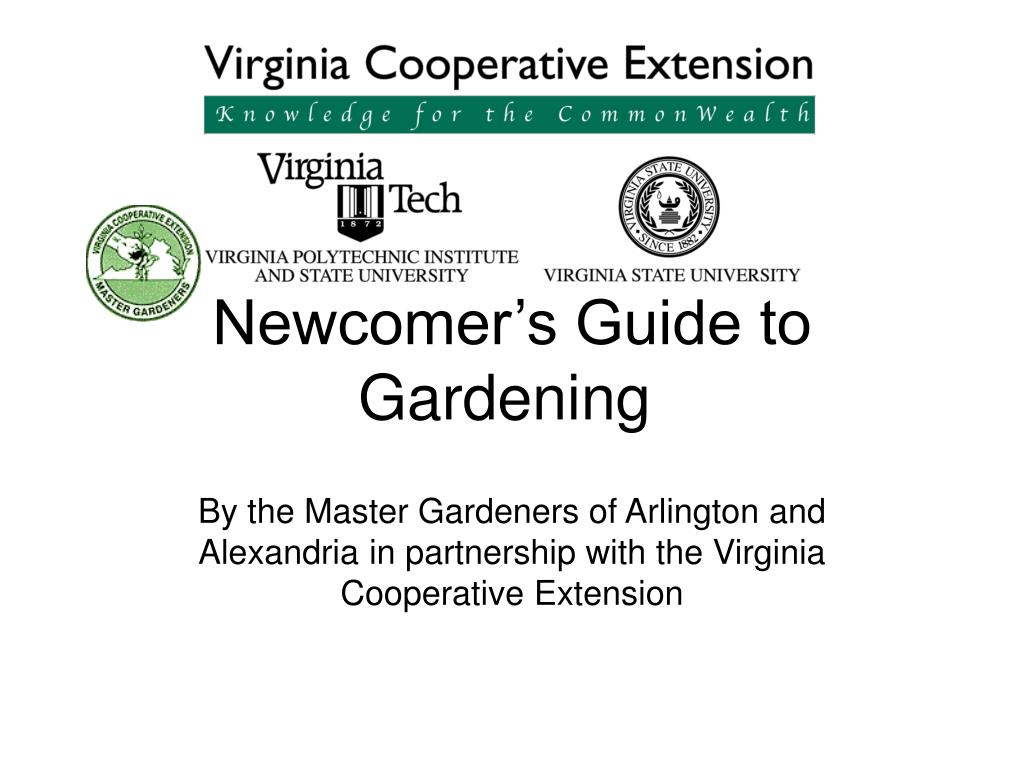 newcomer s guide to gardening l.