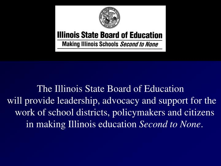 The Illinois State Board of Education