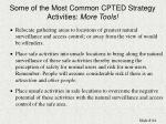 some of the most common cpted strategy activities more tools84