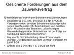 gesicherte forderungen aus dem bauwerksvertrag14