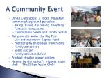 a community event