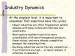 industry dynamics28