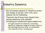 industry dynamics29