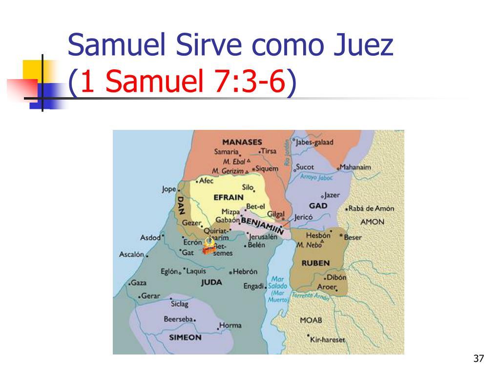 Samuel Sirve como Juez                      (
