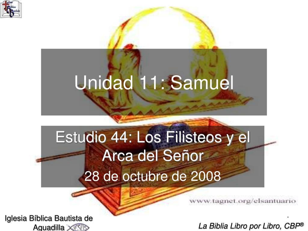 Unidad 11: Samuel