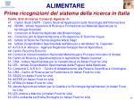 prime ricognizioni del sistema della ricerca in italia17