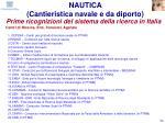 prime ricognizioni del sistema della ricerca in italia53