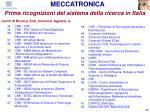 prime ricognizioni del sistema della ricerca in italia89