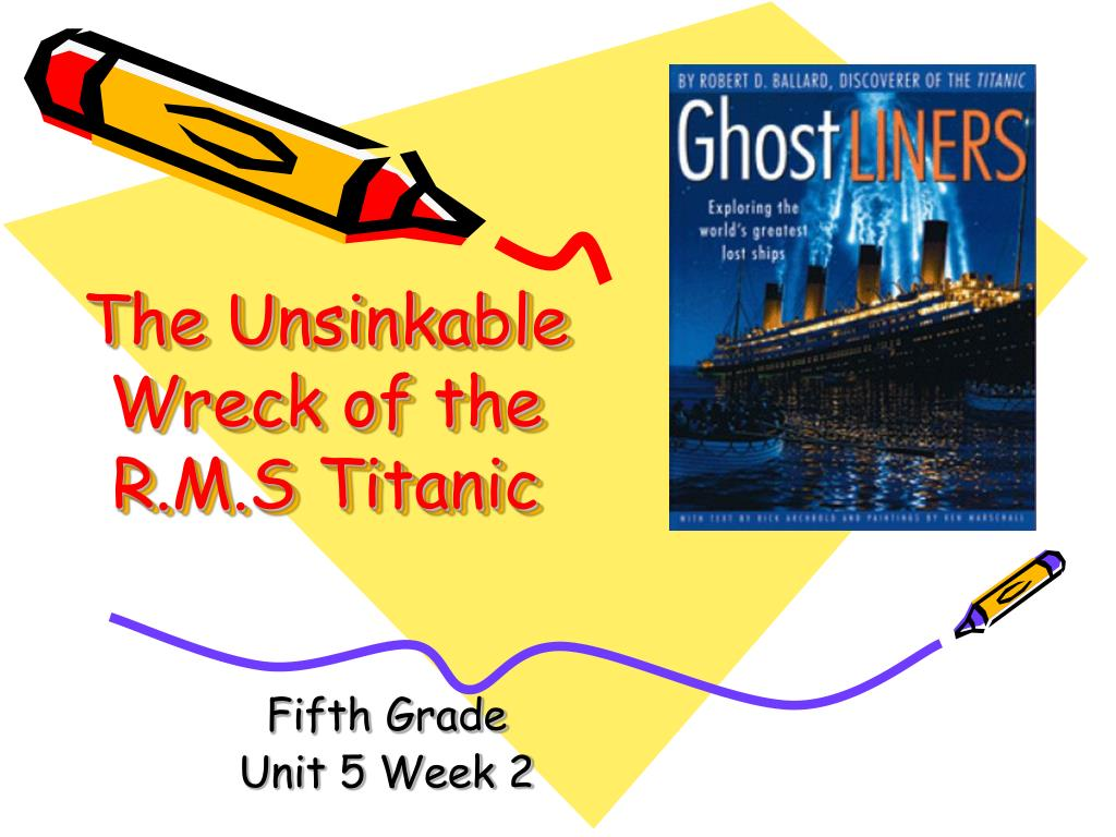 the unsinkable wreck of the r m s titanic l.