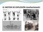 el motor de explosi n revolucionar