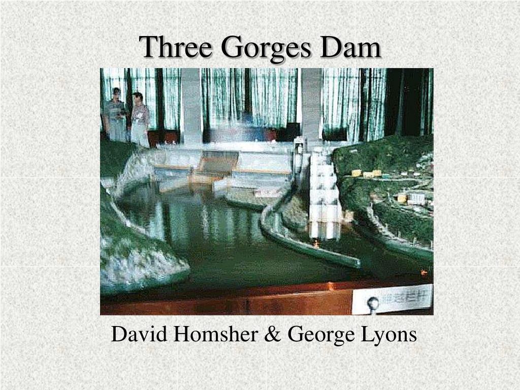 three gorges dam l.