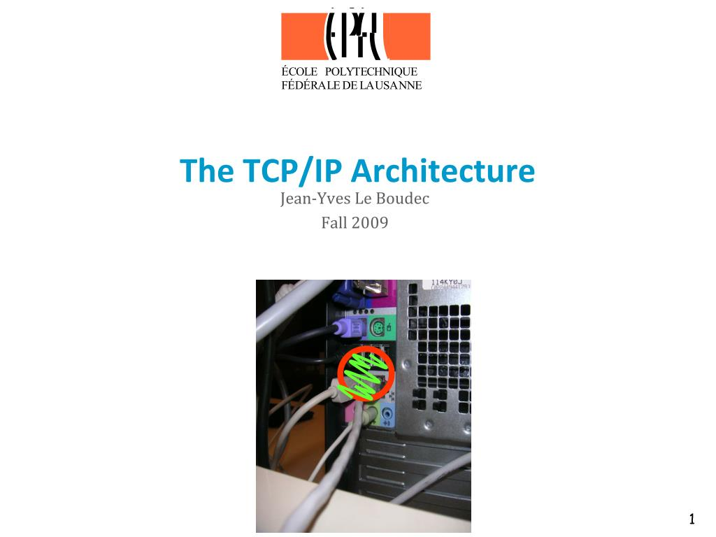 the tcp ip architecture l.