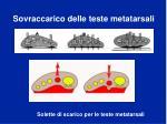sovraccarico delle teste metatarsali50