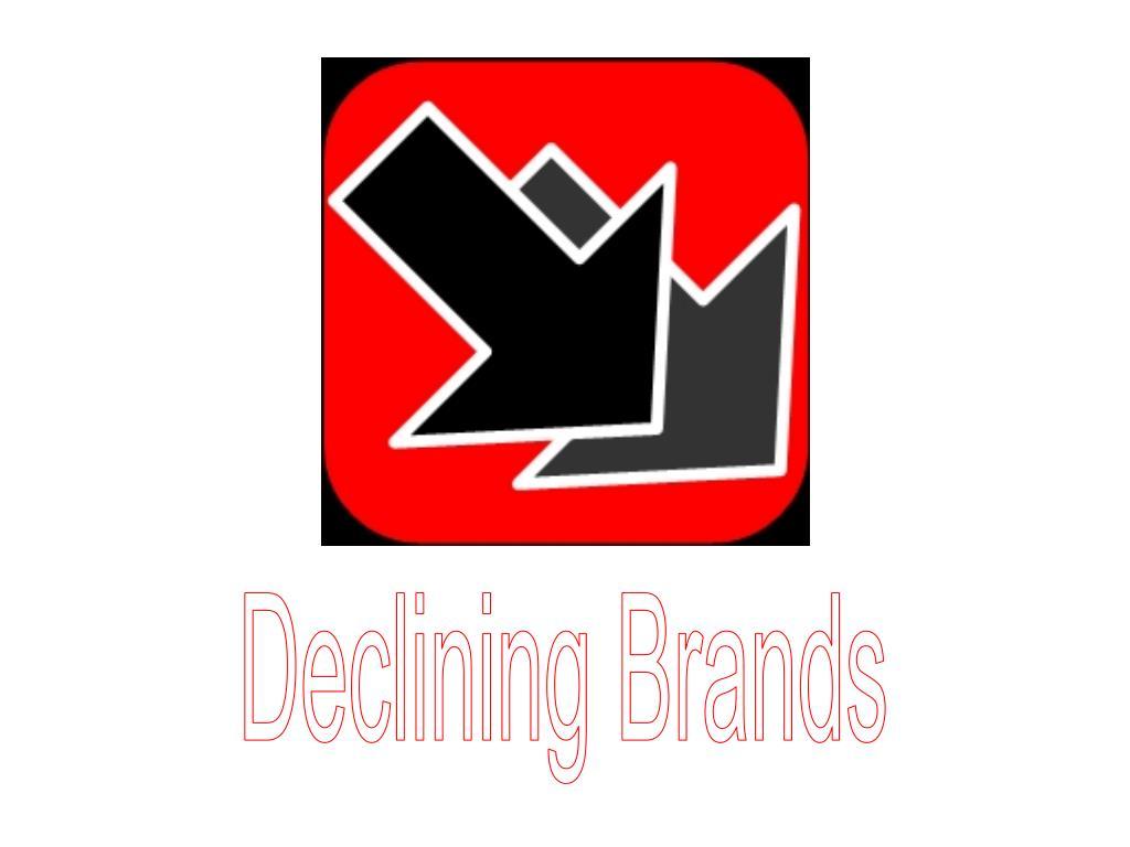 Declining Brands