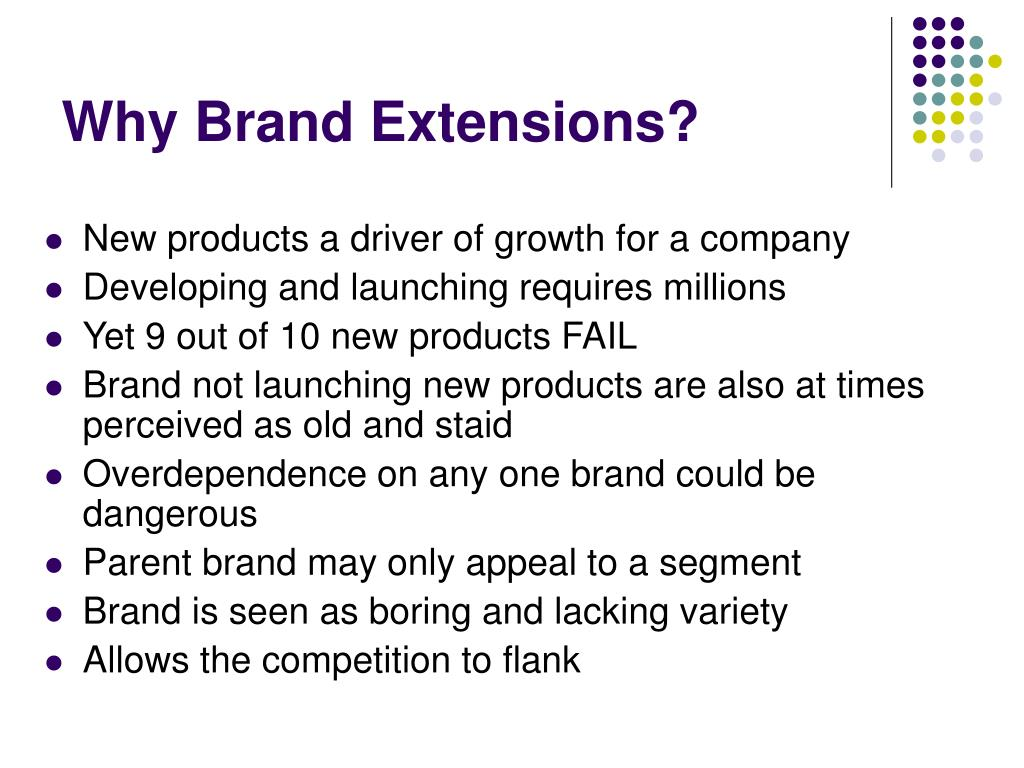 Why Brand Extensions?