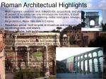 roman architectual highlights