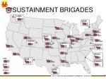 sustainment brigades