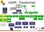 usar transformed