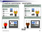 creative commons exemples