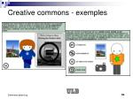 creative commons exemples50