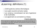 e learning d finitions 1