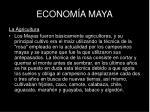 econom a maya