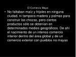 el comercio maya