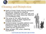 cleaning and disinfection93