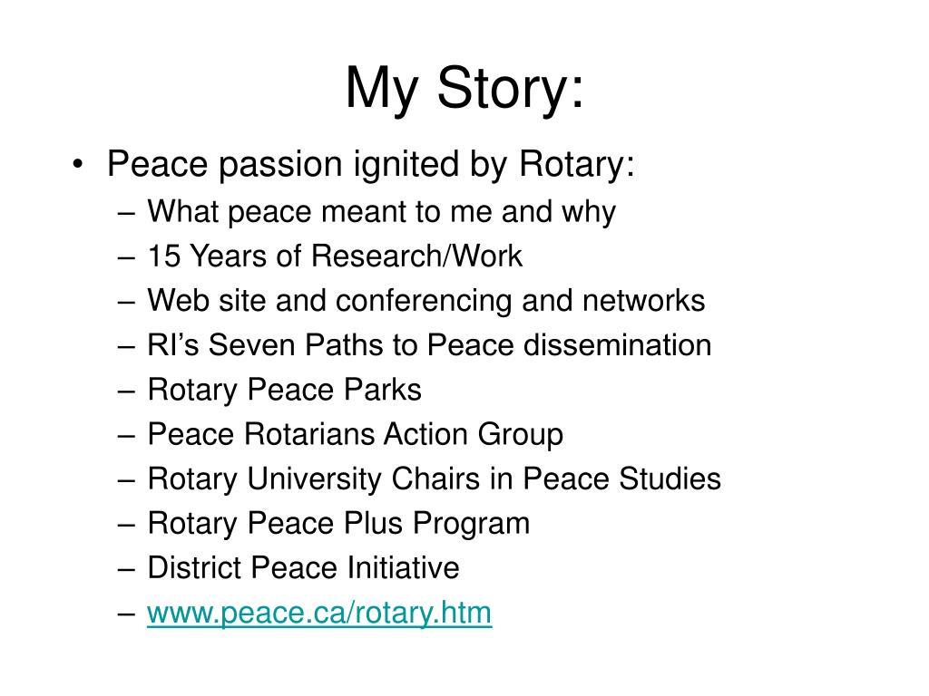My Story: