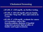 cholesterol screening55