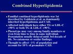 combined hyperlipidemia