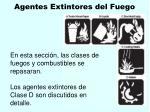 agentes extintores del fuego125