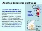 agentes extintores del fuego134