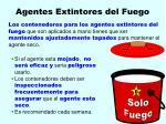 agentes extintores del fuego136