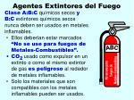 agentes extintores del fuego137