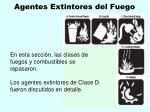 agentes extintores del fuego138