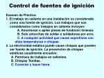 control de fuentes de ignici n102
