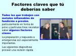 factores claves que t deber as saber8