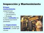 inspecci n y mantenimiento114