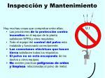 inspecci n y mantenimiento115