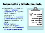 inspecci n y mantenimiento116