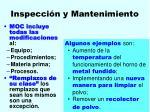inspecci n y mantenimiento120