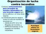 organizaci n de lucha contra incendios168