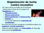 organizaci n de lucha contra incendios171