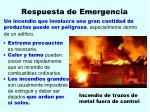 respuesta de emergencia31