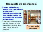 respuesta de emergencia33