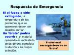 respuesta de emergencia34