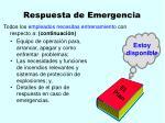 respuesta de emergencia38